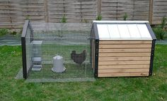 Poultry House, Coops, Rabbit, Shed, Backyard, Outdoor Structures, Flower, Outdoor Decor, Home Decor