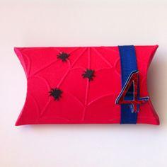 Spiderman Bday Favor using tolet paper rolls