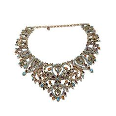 "Heidi Daus ""Feast Your Eyes"" Crystal Collar Necklace"
