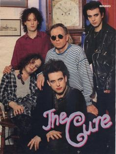 """charliecoffin: """"The cutest moment in goth history. MTV Icons The Cure """""""