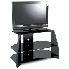 Stil Stand Gloss Black Wooden TV Stand up to BL. Suits up to LCD/Plasma TV. All of our wooden TV stands are compatible with most popular brands of television. Dimensions: (w) x (d) x 502 (h) mm. Cabinets For Sale, Tv Cabinets, Tv Stands Uk, High Gloss Tv Unit, White Tv Unit, Tv Stand Furniture, Tv Stand Unit, Black Tv Stand, Lcd Television