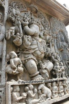 This is seventh in the series on the rich cultural heritage of temples in India. The ancient temples are richly carved and they behol. Temple Architecture, Indian Architecture, Sri Ganesh, Lord Ganesha, Indian Temple, Hindu Temple, Om Gam Ganapataye Namaha, Dancing Ganesha, Buddha Sculpture