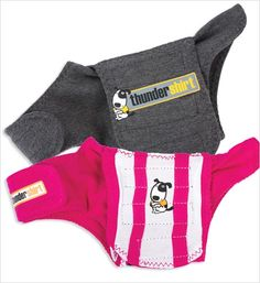 Thundershirt Anxiety Treatment for Dogs --- these are so great for dogs that are afraid of thunderstorms!!