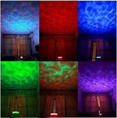 http://ift.tt/1NvrXWC Ozeanwellen Projektor-Lampe Projektion 8Modes Ozean Lamp Musik Projection @buynowiili&