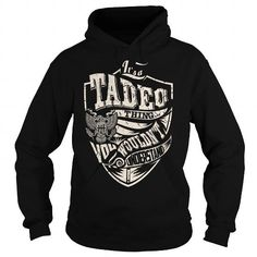 I Love Its a TADEO Thing (Eagle) - Last Name, Surname T-Shirt T-Shirts