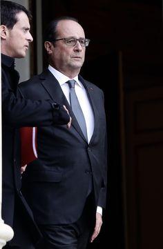 François Hollande à l'Elysée le 14 novembre 2015