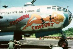 There was a lot more room on the nose of a B-29.