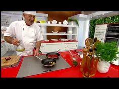 ▶ Karlos Arguiñano en tu cocina: Merluza con panaderas y piquillos - YouTube