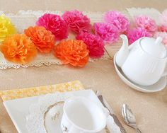 4 Mother's Day Tea Party Decorations
