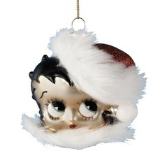 Betty Boop Head Ornament - Christmas - kerstmis - holidays