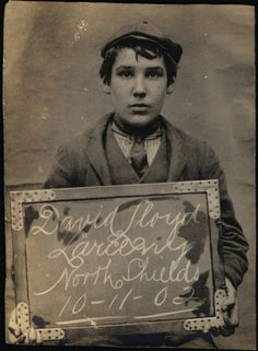 Fascinating old mugshots of North Shields prisoners from the early 1900s: David Lloyd, 1902 (Tyne and Wear Archive and Museums)