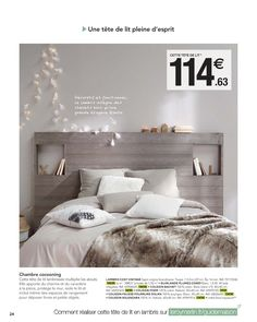60 Most Creative DIY Projects Pallet Headboards Bedroom Design Ideas Cat Bedroom, Home Bedroom, Bedroom Wall, Modern Interior, Interior Design, New Homes, House Styles, Home Decor, Gris Taupe