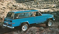 1978 Jeep Cherokee Chief in Brilliant Blue.