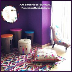 Decorative Kelim with a tribal and modern twist for your home interior