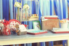 An adorable birthday party based on one of my family's favorite books. I love it!