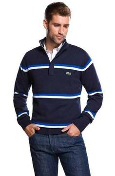 Fashion Lacoste Mens Sweaters Gilets En Tricot, Pulls, Mode Colorée, Style  Cool, cb22336f4999
