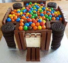 Chocolate Castle Cake   Tooth Fairy Cakes