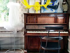 new ikea 2012 tutu lampshade. iwant it! Ikea Ps 2012, Ikea Chair, My New Room, Home Look, Elle Decor, Designer Wallpaper, Decoration, Vintage Decor, Pianos