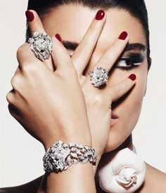 Sunlight on Cold Water: THINGS I LOVE : Crystal Renn For Vogue