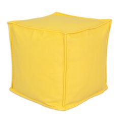 Chooty & Co. www.chooty.com Sundeck Yellow Outdoor Hassock bp17s8009