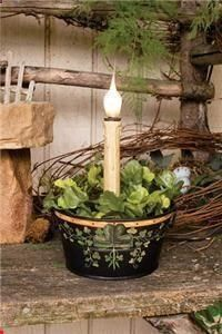 St. Patricks Day Candle Lamp