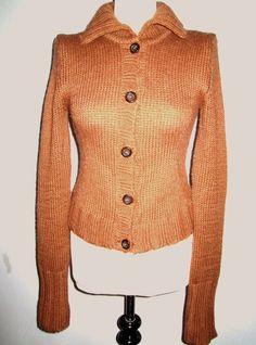 * * * DOLCE&GABBANA Strickjacke braun, Gr.XS * * * | eBay Dolce & Gabbana, Ebay, Fashion, Clothing Accessories, Jackets, Knit Jacket, Fashion Women, Get Tan, Breien