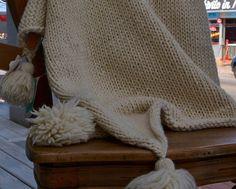Pure Merino Wool Throw Blanket Perfect Cozy Wool Blanket
