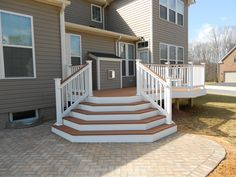 Sometimes it can be difficult to choose between a deck or patio project. A new deck built right off of the kitchen sliding door makes it very easy to walk right outside and fire up the grill. On the...