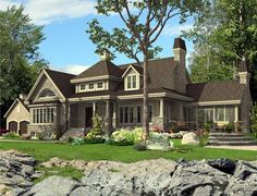 House Plan 50313   Colonial Plan with 1984 Sq. Ft., 3 Bedrooms, 3 Bathrooms at family home plans