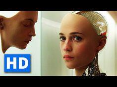 EX MACHINA Official Trailer (2015) [HD] - YouTube Make Money Online, How To Make Money, Ex Machina, Official Trailer, Marketing, Trailer 2015, Pro Bono, United Nations, Israel