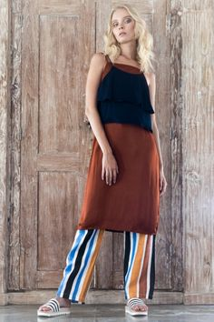There's just something about Sara Bailes designs that hits the nail on the head, and we think her background designing for Karen Walker and Gorman might Waist Skirt, High Waisted Skirt, Karen Walker, Journal, Skirts, Collection, Design, Fashion, Moda