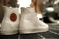 white leather converse!