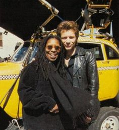 Jon Bon Jovi and Whoopie Goldberg