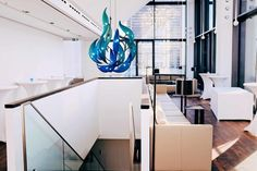 Our Water Wind Fire collection of blown glass chandeliers are inspired by shapes and movement of water wind and fire. Blown Glass Chandelier, Glass Fusing Projects, Drop Lights, Parking Design, Dresser As Nightstand, Glass Design, Hand Blown Glass, Fused Glass, Glass Art