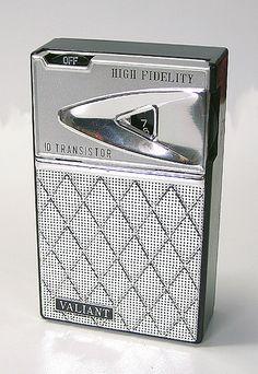 All sizes | Valiant 10 Transistor Radio, 1960's, via Flickr.