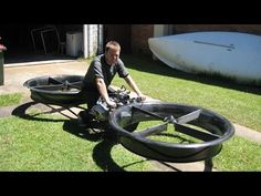 ▶ New Invention - Hoverbike (2014) - YouTube