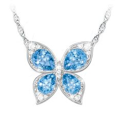 Wings Of Beauty Pendant Necklace