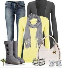 """Casual wear"" in love with this outfit! Fashion Mode, Look Fashion, Fashion Outfits, Womens Fashion, Fashion Trends, Fashion Fashion, Fashion News, Runway Fashion, Casual Wear"