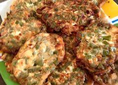 Tortitas de nopal y queso panela