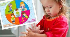 Dossier complet avec chronique-conseil,  jeux, activités imprimables, chanson MP3 et paroles téléchargeables, pour un lavage des mains efficace.