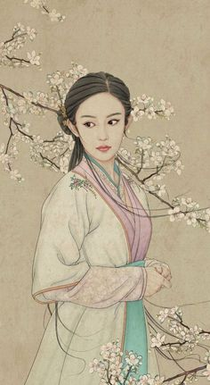 堆糖-美好生活研究所 Creative Pictures, Art Pictures, Oriental, Chinese Drawings, Japon Illustration, China Art, Korean Art, Chinese Painting, Japanese Art