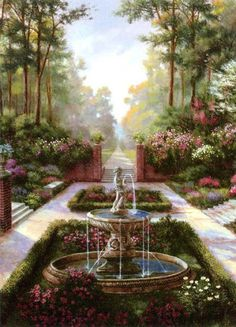 'The Fountain Garden'