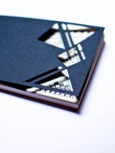 Handmade Notebook - Black Diego -1 by Serena Olivieri