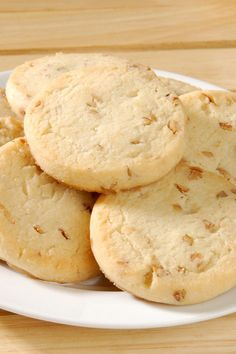Delicious Pecan Shortbread Cookies Recipe