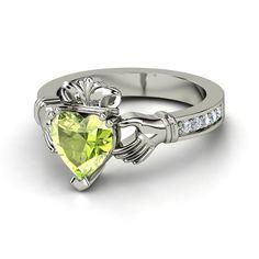 Claddagh+Engagement+Rings | Diamond Claddagh Ring: Outstanding Engagement Ring - Clatter Ring