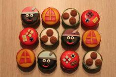 Sinterklaas cupcakes   Cupcakes by Brenda