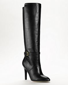 Coach Ash High Heel Tall Boots