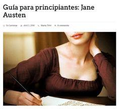 Guía para principiantes : Jane Austen / @caninomag   #nosólotécnicaBUPM