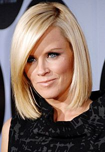 Check out these 5 images of Jenny McCarthy Hair (Medium Length, Bob, Asymmetrical Cuts). Find more images in blonde hairstyles,bob haircuts,medium hairstyles. Medium Hair Cuts, Medium Hair Styles, Short Hair Styles, Medium Bobs, Jenny Mccarthy Hair, Bob Haircut Medium Length, Angled Bob Haircuts, Long Bob Hairstyles, Modern Hairstyles