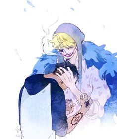 Trafalgar D Water Law Corazon Cora-san Donqixote Rosinante One Piece
